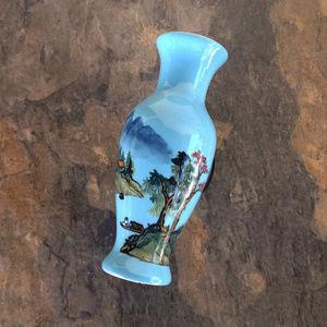 Vintage Hand Painted Rose Vase